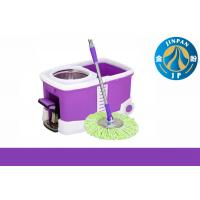 Quality Bucket Mop with Wheel 360 Rotating Mop Spin Magic Mop for sale