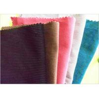 China Classic Soft Corduroy Fabric 60 Cotton 40 Polyester Breathable Uv Resistant on sale