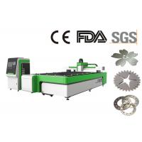 Quality Laser Metal Cutting Machine / Laser Cutter Engraver 3000X1500 Mm Max Cutting Area for sale
