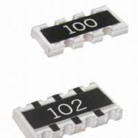 China SMD Chip Networks, Various Types are Available on sale