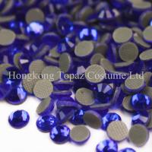 China Crystal stone glass stone dmc hot fix Rhinestone for dresses on sale