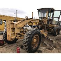 Quality Ripper Available Used CAT Grader 12G Original Paint CAT 3306 Engine New Tires for sale