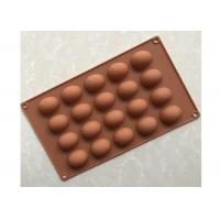 Quality BPA Free Silicone Chocolate Molds , 20 Cavities Chocolate Ball Mold for sale
