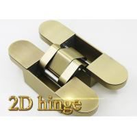 Buy cheap Heavy Duty Adjustable Invisible Door Hinges For Wood Door / Steel Door / Security Door 191 * 45 * 45 mm from wholesalers