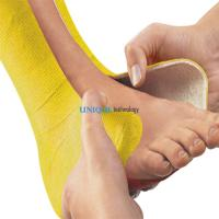 China Orthopedic surgical breathable fiberglass / polyester casting tape and splint on sale