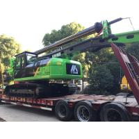 Quality KR150C Hydraulic Piling Rig , 52m Max Drilling Depth Bored Pile Driving Machine for sale