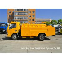 Quality DFAC Septic Tank Truck For Suction And Jetting Sewer With Hydrojet for sale