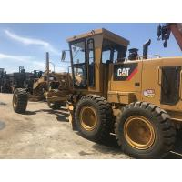 Quality 2015 Year Used Caterpillar Motor Grader40K Low Hours A/C Cabin 128KW Engine Power for sale