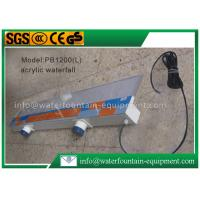China Plastic Waterfall Blade Water Fountain Equipment Various Sizes Outdoor Decoration on sale