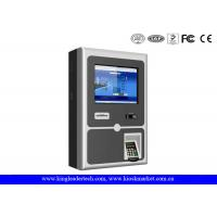 Buy cheap 17 Inch Wall Mount Kiosk With Thermal Receipt Printer , PIN Pad And Card Reader product