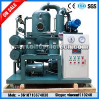 Skid Mounted Double Stage Vacuum Transformer Oil Purifier Machine for Power Station