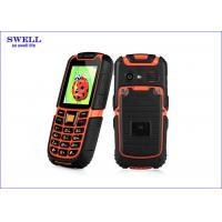 Dual Sim Rugged Rubber Dustproof Military Grade Cell Phone S6 Surpporting MP3