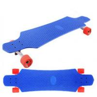 Buy cheap Wholesale 36 inch complete plastic longboard skate board with PU wheels product