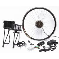 Quality Portable Lightweight Electric Bike Conversion Kit Safety Large Power Reserve for sale