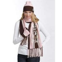 China Juicy Couture Striped Scarf&Caps on sale