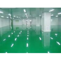 Quality Customized Size Modular Clean Room Comfortable Surface With Cleaning Floor for sale