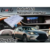 Quality Android Auto Interface for Lexus ES 250/300h/350/200 2012-2017 Mouse Version , GPS Navi for sale