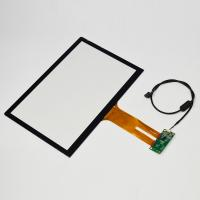 Quality 5 Points Touch Capacitive Touch Glass Screen , Ipad / Phone Screen Panel for sale