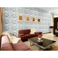 Quality Plant Fiber Eco Friendly Wallpaper Home Decorating Wallpaper for TV / Sofa / LOGO Background Wall for sale