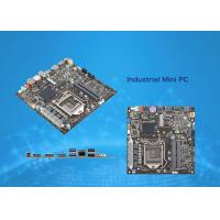 Quality AMD Ryzen AM4 Thin Mini ITX Motherboard Compatible With A320 Chip HDMI VGA 2 X DDR4 for sale