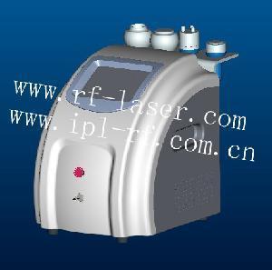 China Ultrasonic Cavitation Exlpode Monopolar RF Lipolysis Tripolar RF Skin Tightening Equipment on sale