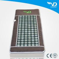 Quality Portable Infrared Jade Stone Heating Massage Mattress for sale