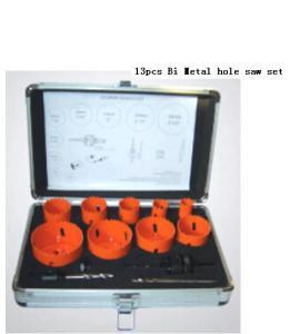 Quality JWT 13PCS HSS  Bi-Metal Hole Saw-professional manufacture,best quality for sale