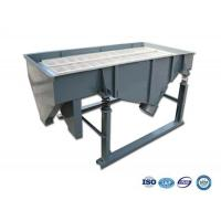 China 1-5 layers High Frequency quality linear vibrating screen for chocolate powder,green beans,pea on sale
