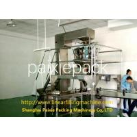 Simple Operation Weighing Capping 3 In 1 Filling Machine Touch Screen / Button
