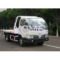 Buy cheap Durable 6 Tons Wrecker Tow Truck , Flatbed Breakdown Recovery Truck For Rescue from wholesalers