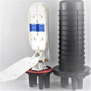 Quality butffer storge Fiber Optic Splice Closure , optical fiber splice closure PP for sale