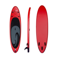 Quality Non Slip Deck Red 325*81*1cm All Round Inflatable SUP for sale