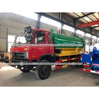 Quality Dongfeng 10cbm Sewer Suction Pump Fecal Sewage Tanker Vacuum Truck for sale