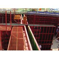 Light Weight Steel Formwork System With Fewer Connectors High Load Capacity