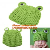 China Newborn Turtle Knit Crochet Clothes Beanie Hat Outfit Photo Props on sale
