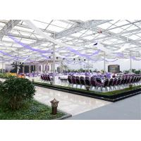 Quality Polycarbonate Ecological Greenhouse For Tomato Planting And Ecology Agriculture for sale