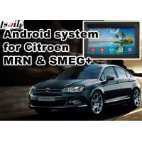 Quality Android GPS navigation box video interface for Citroen SMEG+ MRN Car GPS Navigation System for sale