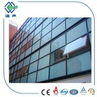 Clear / Tinted 6mm+12A+6mm Low-e Double Insulated Glass for Buildings