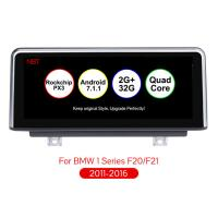 China 10.25 inch Android 7.1 Car Navigation Player Auto Multimedia Car Audio for BMW F20 F21 F23 Cabrio With NBT System on sale