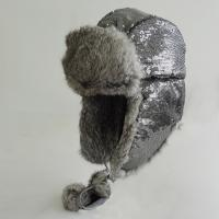 Buy Reliable Unisex Warm Winter Sheepskin Hats Earflap With Rabbit Fur at wholesale prices