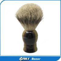 Quality Handcrafted Silver Tips Badger Hair Best Shaving Care Brush For Men Grooming for sale