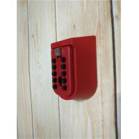 Quality OEM Strong Key Pad Lock Box Wall Mounted Personalized With Metal Body for sale