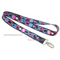 China Exhibition Meeting Dye Sublimation Lanyard, Gifts Promotion Custom Logo Printed Dye Printing Lanyard on sale