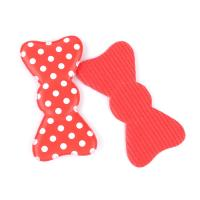 Quality Customised Red  Fancy Hair Accessories Clips With Foam , Durable / Recycle for sale