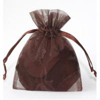 Quality Eco-friendly Organza Gift Bags With Drawstring Rectangle Square For Jewelry gift for sale