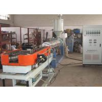 China Double Wall Corrugated Pipe Extrusion Line , PP PE PVC Pipe Extruder on sale