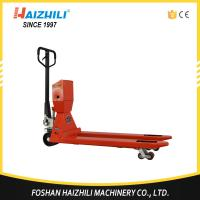 Buy cheap High quality 3000kg hydraulic hand pallet truck scale with 1 year warranty from wholesalers