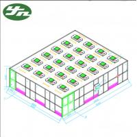 China ISO 6 Clean Booth Room SS304 Frame Acrylic Wall 99.999% Efficiency For Canadian Nutrition on sale