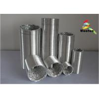 Buy cheap Fire Rated Aluminum Flexible Duct 2 Inch Double Layer For Ventilation product