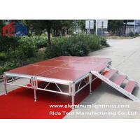 China Events Used Square Aluminum Stage Truss Spigot Durable 6082-T6 350mm on sale
